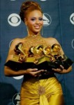 Beyonce Winning 6 Grammy Awards